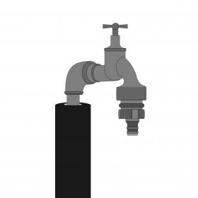Roest in waterleiding verwijderen